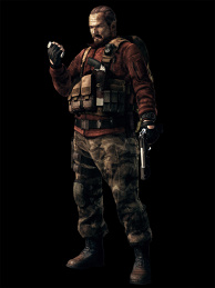 Barry Burton ★Artwork: Resident Evil: Revelations 2