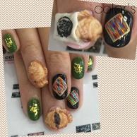 3D nail of TAIYAKI
