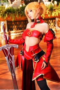 Saber of Red: Mordred
