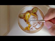 Latte Art of Jolyne Cujoh from JoJo's Bizarre Adventure