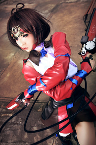 Mumei Cosplay: kabaneri of the iron fortress