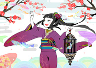 Plum Blossoms to Fish