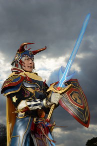 Dissidia FF Warrior of Light