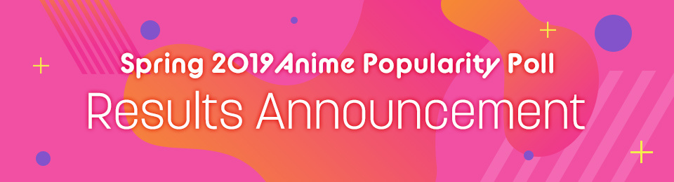 Spring 2019 Anime Popularity Poll