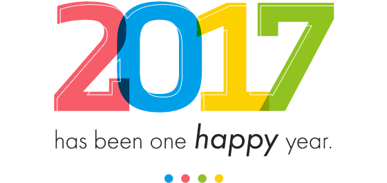 2017 has been one happy year.