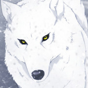 Wise Silver Wolf