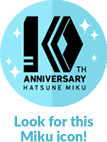 Look for this Miku icon!