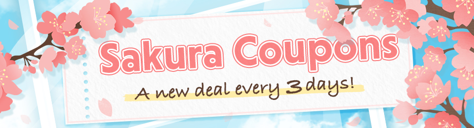 Sakura Coupon