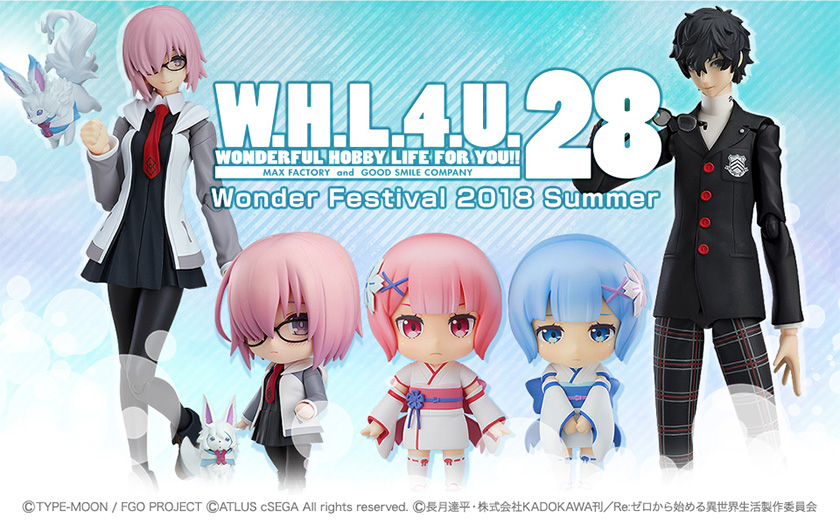 W.H.L.4.U.28 WONDERFUL HOBBY LIFE FOR YOU!! 28. Wonder Festival 2018 Summer