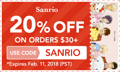 Sanrio 20% OFF ON ORDERS $30+