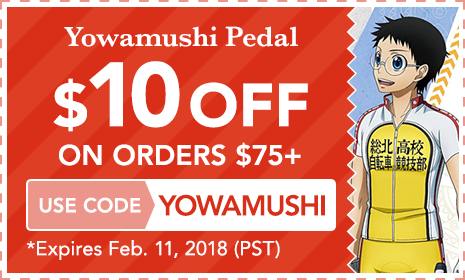 Yowamushi Pedal $10 OFF ON ORDERS $75+