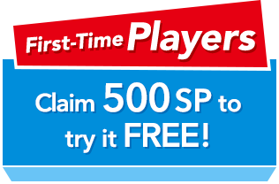 First-Time Players Claim 500SP to try it FREE!