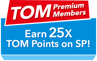 TOM Premium Members Earn 200SP every day!