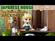 Miniature Japanese House: Engawa | Diorama Breakdown for Toy Photography