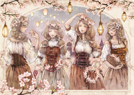 Sakura Crown Girls