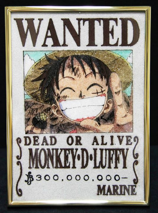 One Piece Crystal Wanted Posters | Tokyo Otaku Mode Gallery