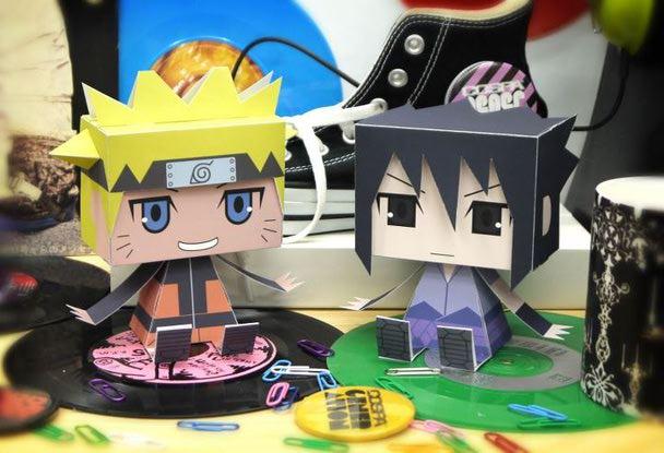 naruto sasuke papercraft tokyo otaku mode gallery