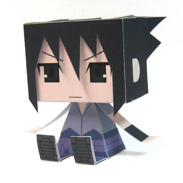 naruto sasuke papercraft 3 5 tokyo otaku mode gallery