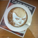 DRAGON BALL Latte art! (4/8)