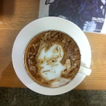 DRAGON BALL Latte art! (5/8)