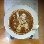 DRAGON BALL Latte art! (8/8)