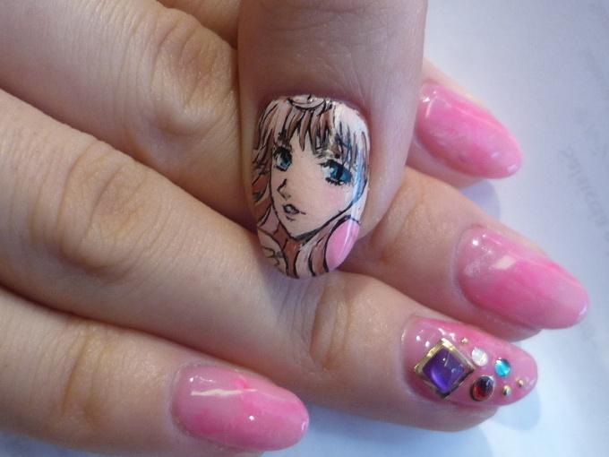 Anime nail art 55 tokyo otaku mode gallery prinsesfo Gallery