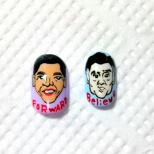 Obama and Romney Nail Art! (15/18)