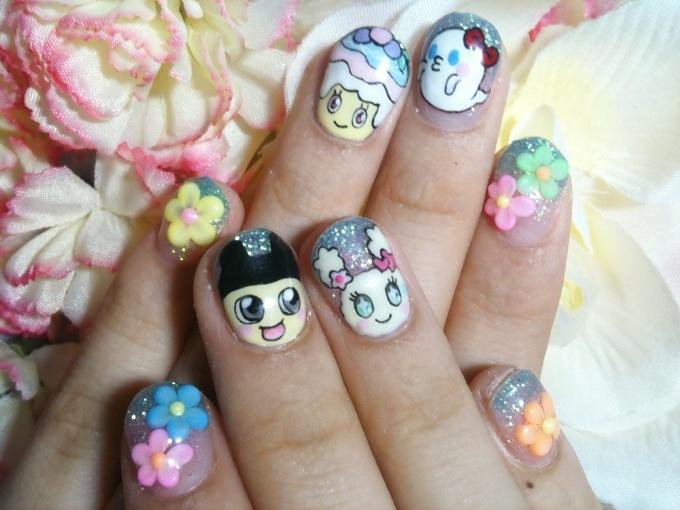 Tamagotchi Nail Art! (1/2) | Tokyo Otaku Mode Gallery