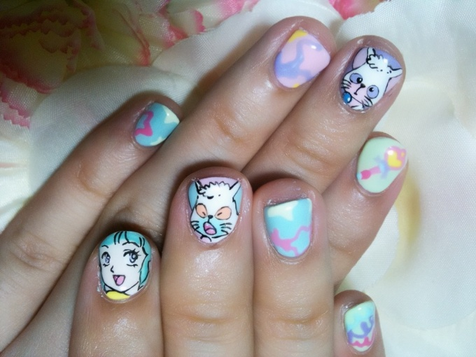 Creamy Mami The Magic Angel Nail Art 12 Tokyo Otaku Mode Gallery