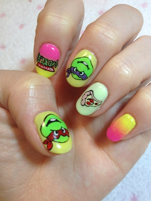 Teenage Mutant Ninja Turtles Nails!! (2/5) | Tokyo Otaku Mode Gallery