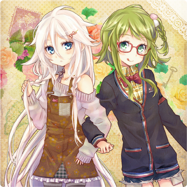 Image result for IA and gumi