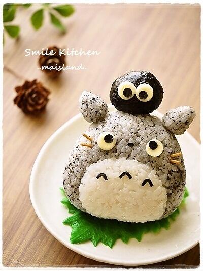 My Neighbor Totoro Onigiri♪ | Tokyo Otaku Mode Gallery