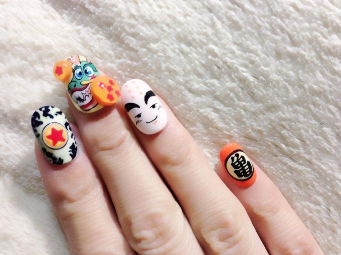 Dragon Ball Nails☆ 4 7 Tokyo Otaku Mode Gallery