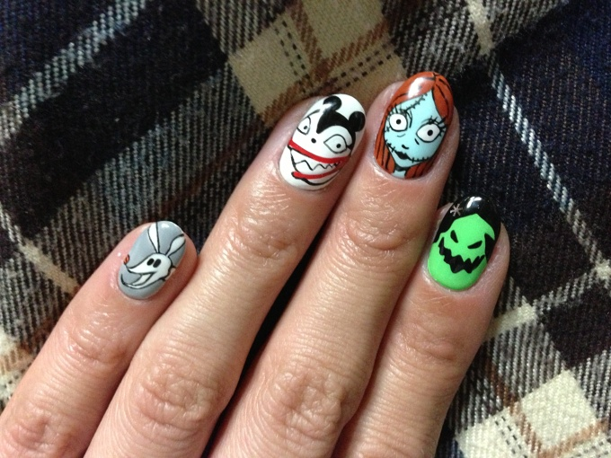 The Nightmare Before Christmas Nails 27 Tokyo Otaku Mode Gallery