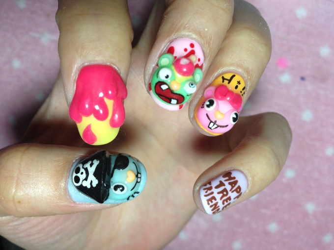 Happy tree friends nail art 37 tokyo otaku mode gallery prinsesfo Image collections