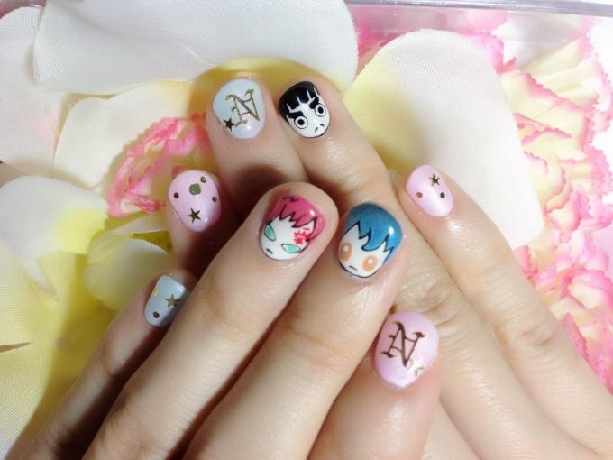 Cute Stylish Naruto Nails♪ (3/5) | Tokyo Otaku Mode Gallery