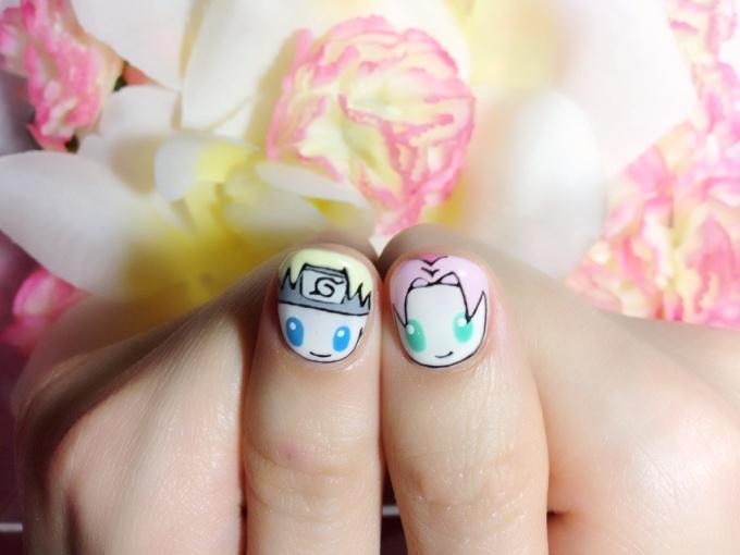 Cute Stylish Naruto Nails♪ (4/5) | Tokyo Otaku Mode Gallery
