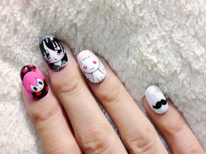 Puella Magi Madoka Magica Nails♪ (3/9) | Tokyo Otaku Mode Gallery