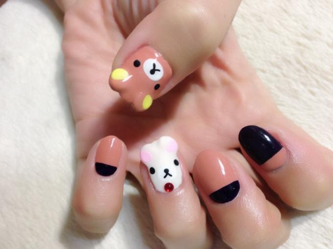Rilakkuma Nail Art♪ (1/3)   Tokyo Otaku Mode Gallery