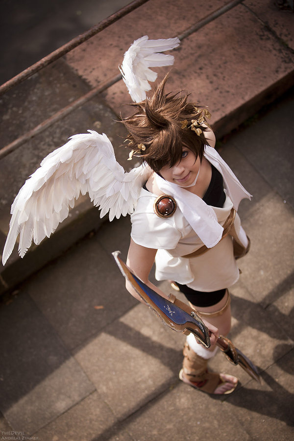 Pit Kid Icarus Costume