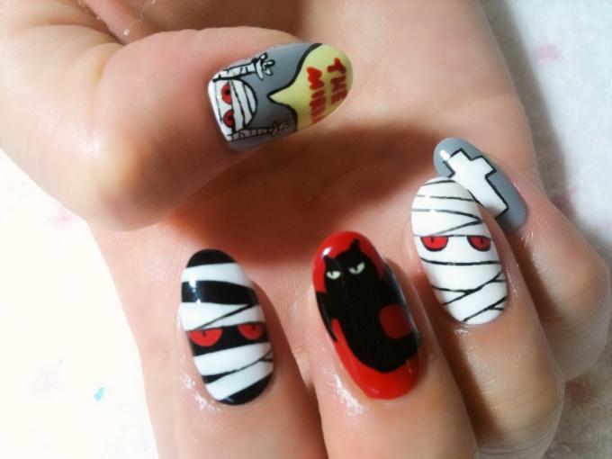 Character Design Nails : Kinoi kun from the band mirraz nails ♪ tokyo