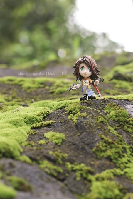 Final Fantasy Yuna (Trading Arts Kai Mini)