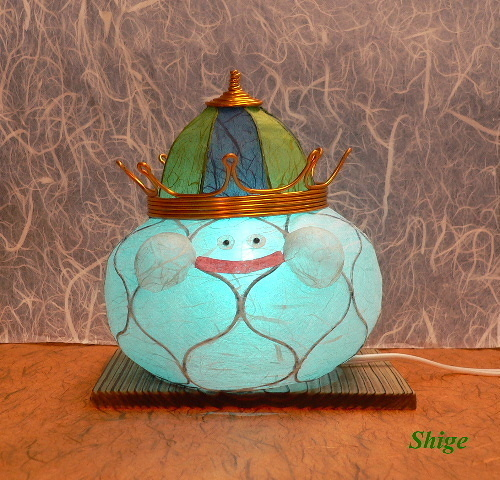 Cutely Shining!? King Slime Lamp Shade ♪ (1/5)
