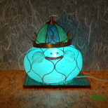 Cutely Shining!? King Slime Lamp Shade ♪ (3/5)