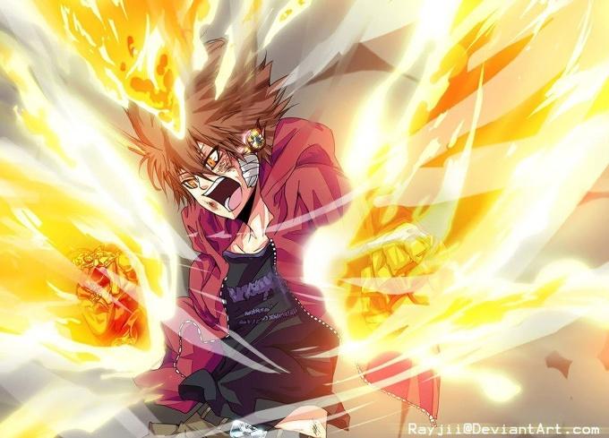 Katekyo Hitman Reborn Tsuna Hyper Mode Anime Gallery Tom