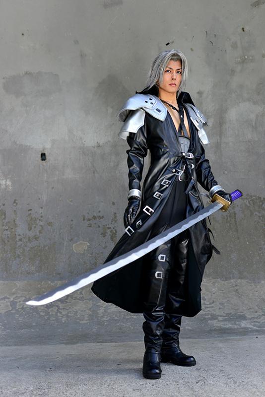 Final Fantasy Sephiroth Cosplay Sephiroth CRISIS CORE ...