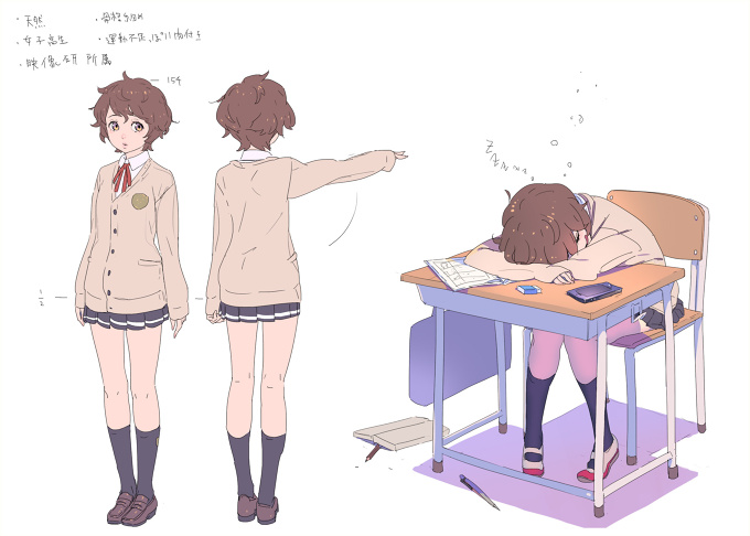 College For Character Design : Character designjapanese school girl tokyo otaku mode