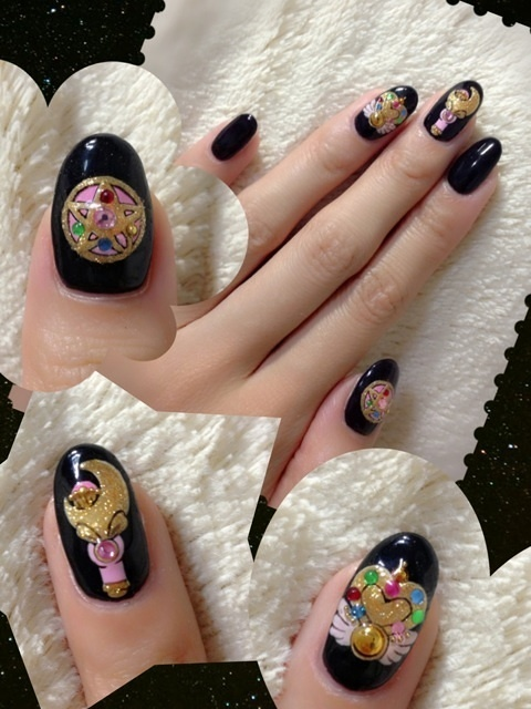Sailor Moon Item Nails 16 Anime Gallery Tom Shop