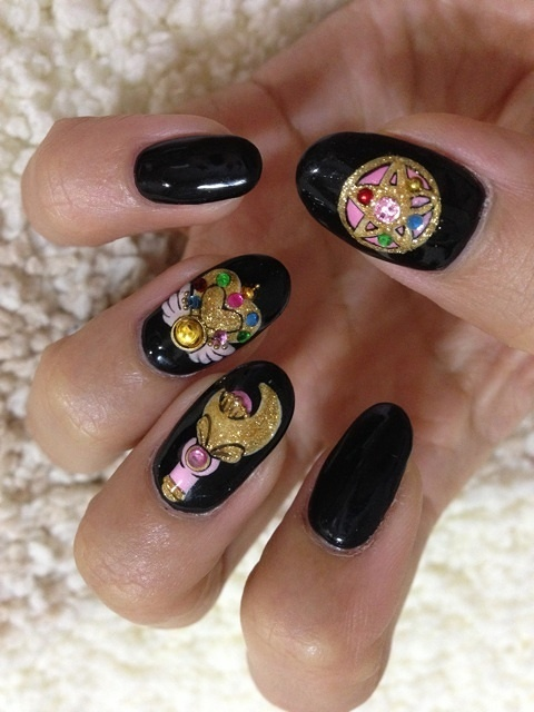 Sailor Moon Item Nails 26 Tokyo Otaku Mode Gallery
