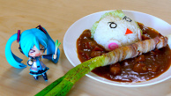 Hatsune Miku 39 Curry from Miku Café